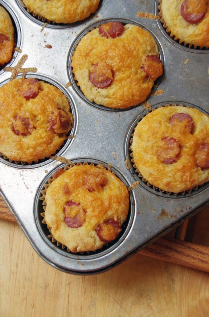 Easy-Corn-Dog-Muffin-Recipe-from-Scratch-678x1024